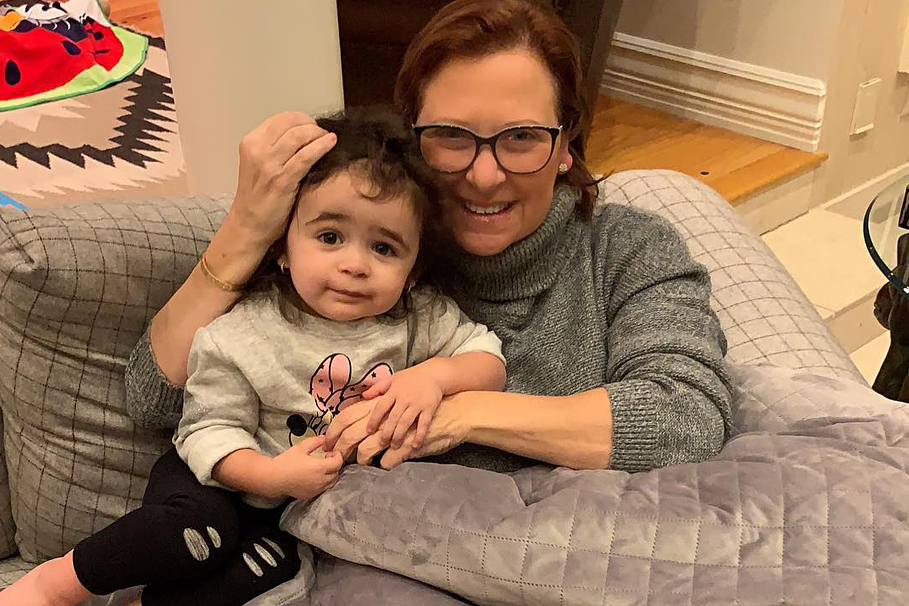 Caroline Manzo and Her Granddaughter Markie