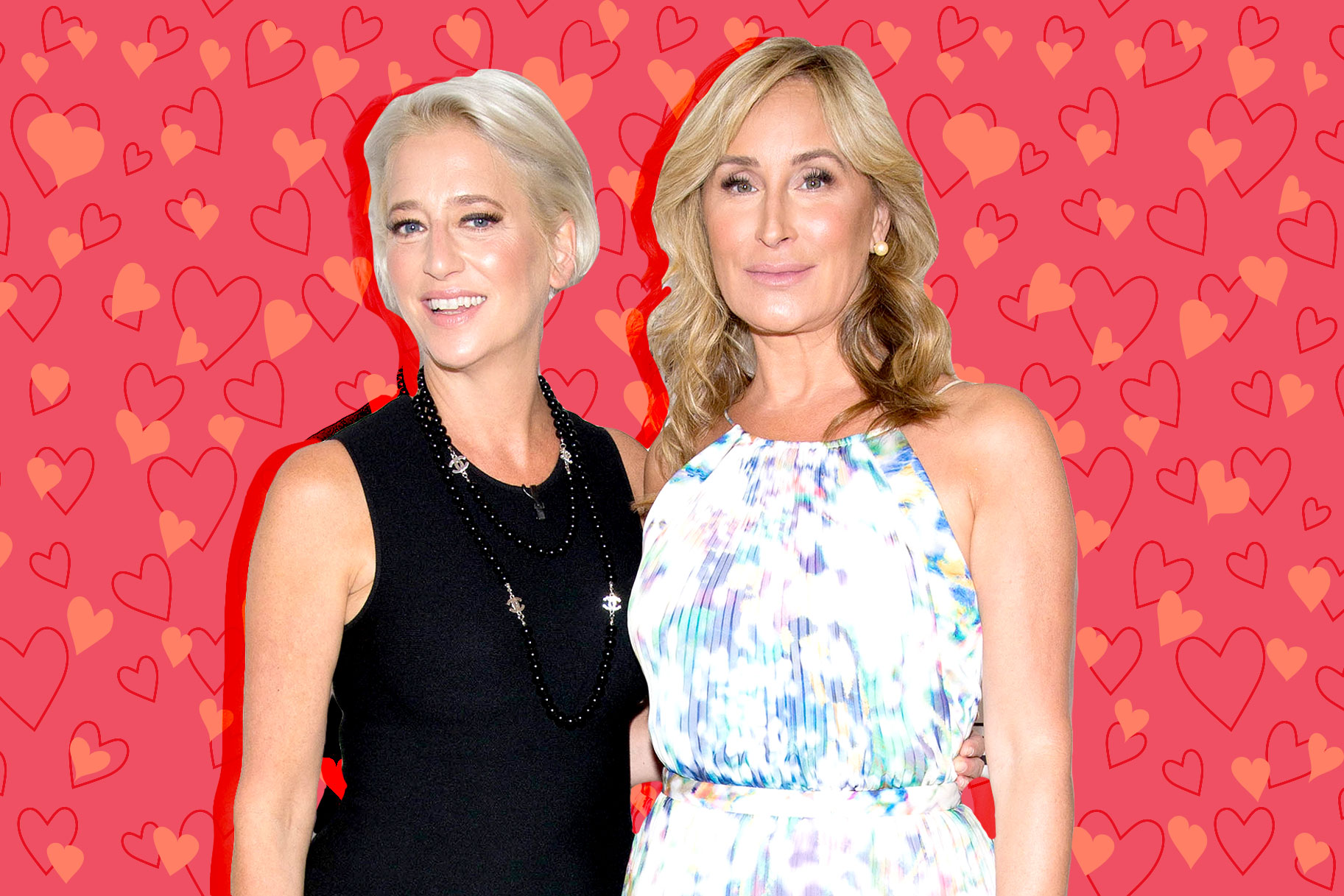 Dorinda Medley and Sonja Morgan