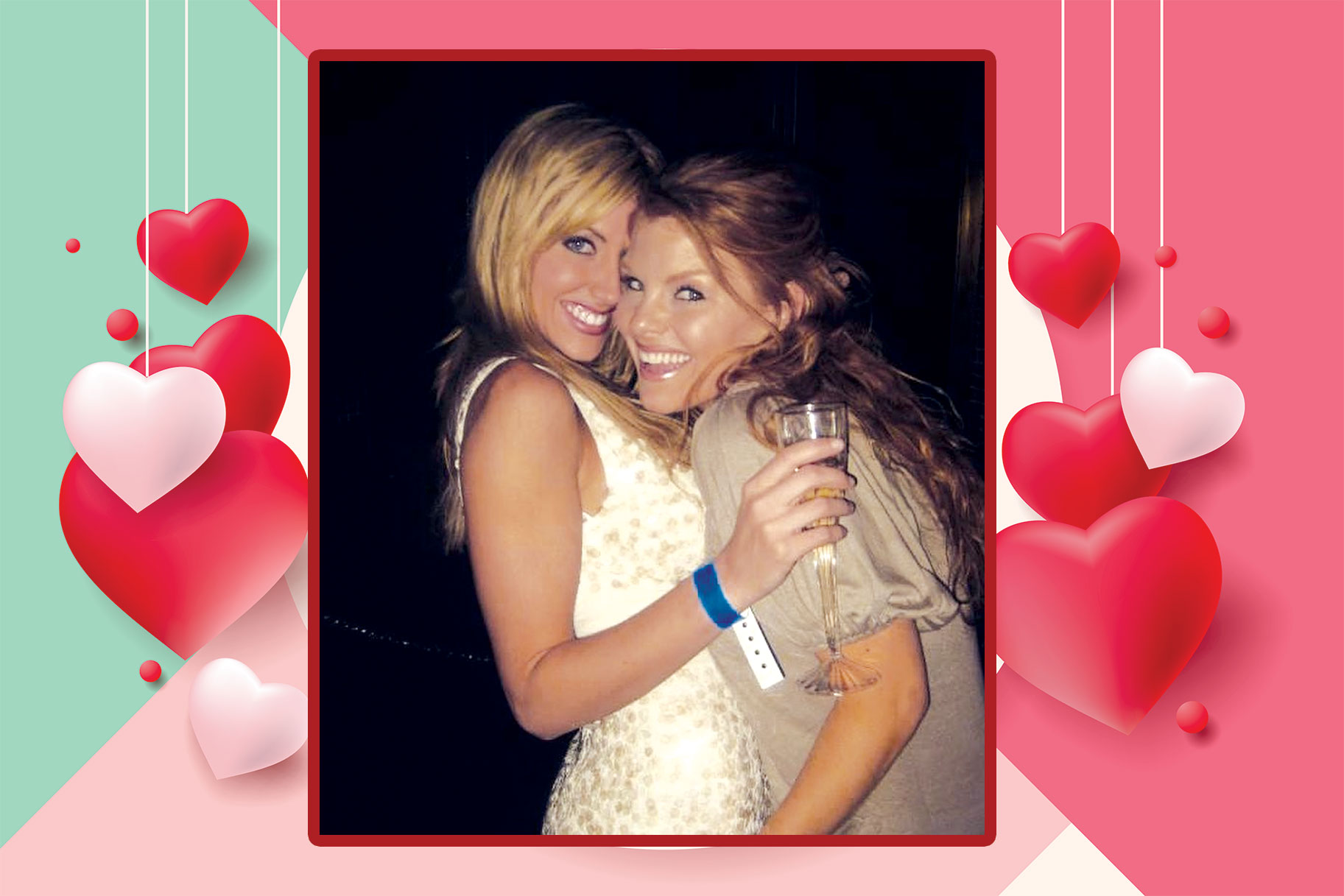 Brandi Redmond and Stephanie Hollman