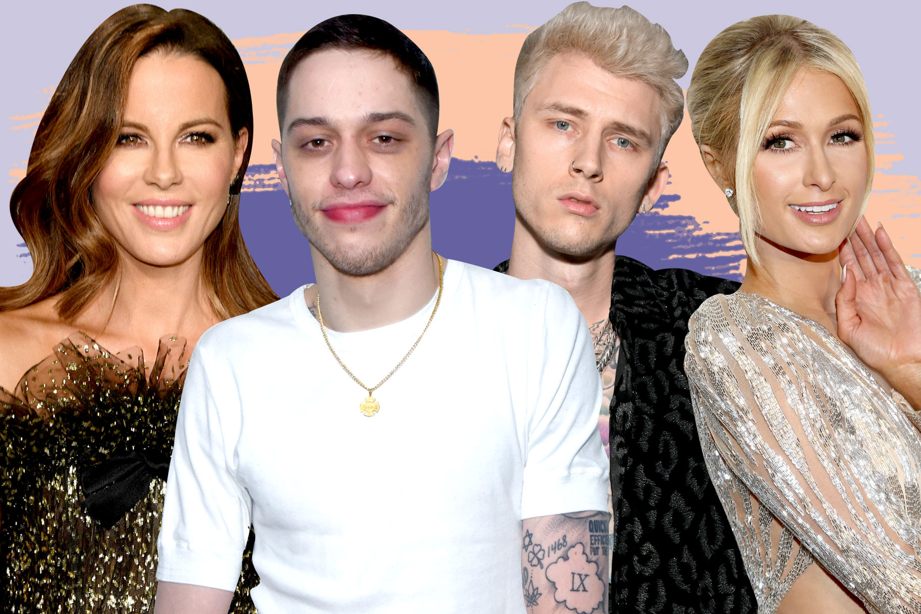 Kate Beckinsale, Pete Davidson, Machine Gun Kelly, Paris Hilton