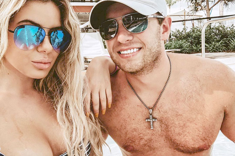 Brielle Biermann and Ex-Boyfriend Slade Osborne in Miami