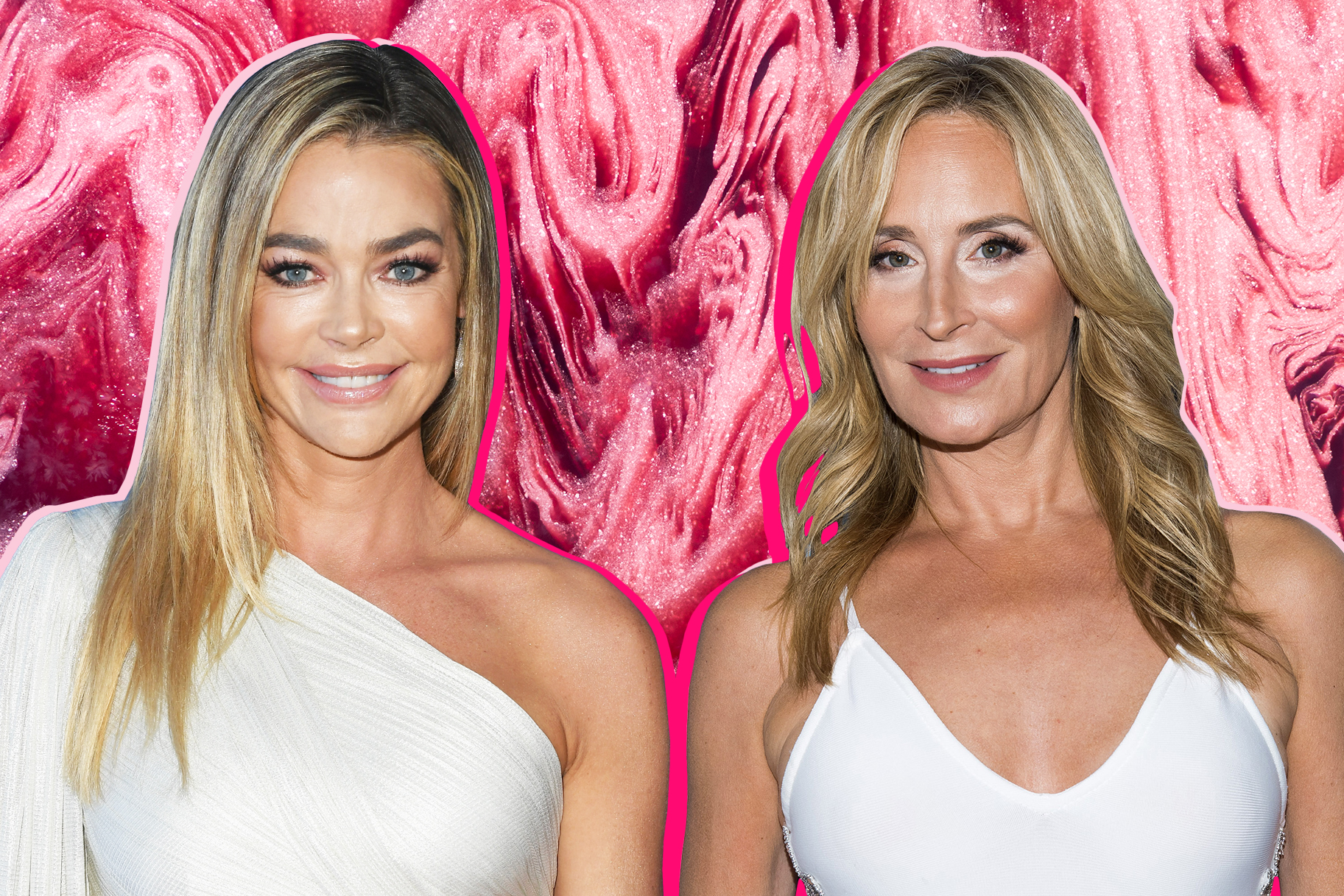 Denise Richards and Sonja Morgan