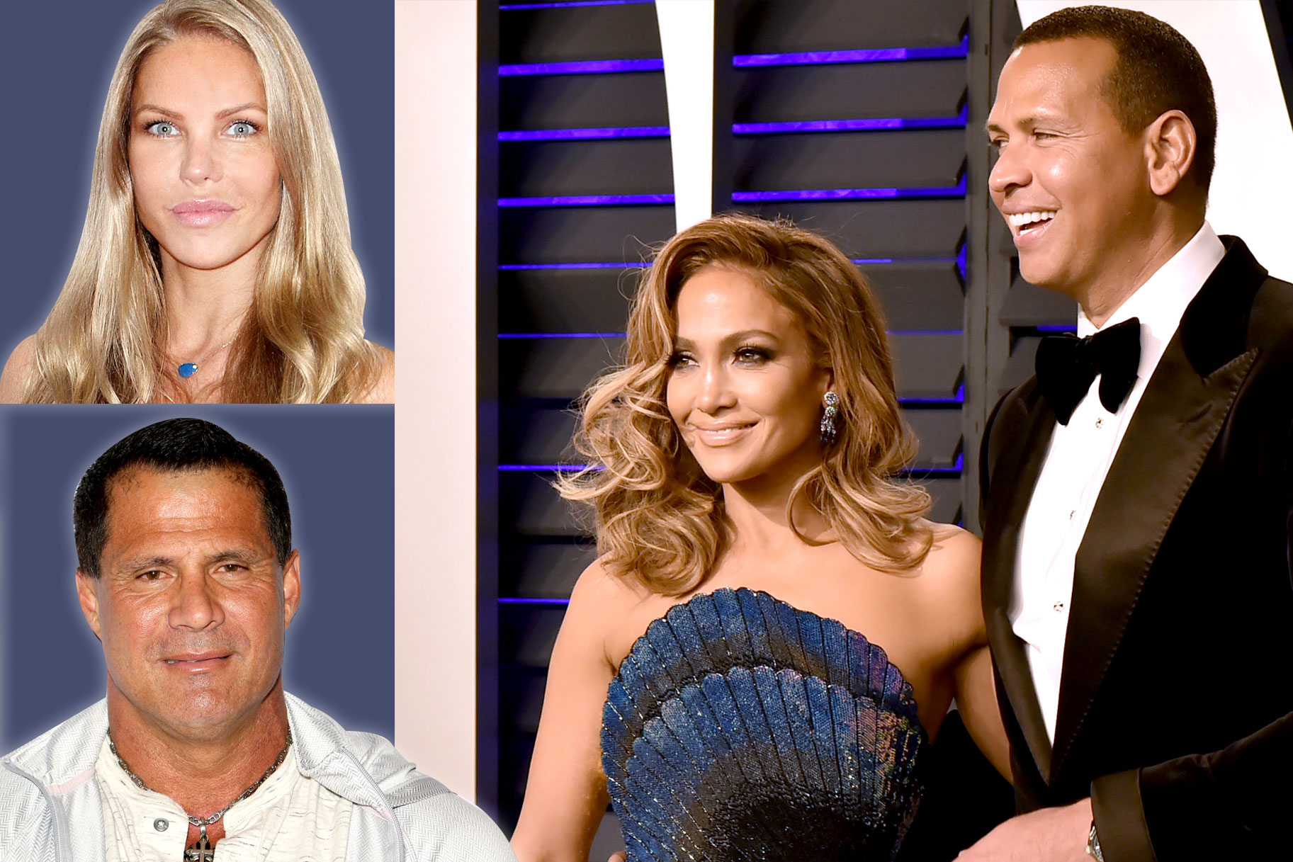 Jessica Canseco, Jose Canseco, Jennifer Lopez, Alex Rodriguez