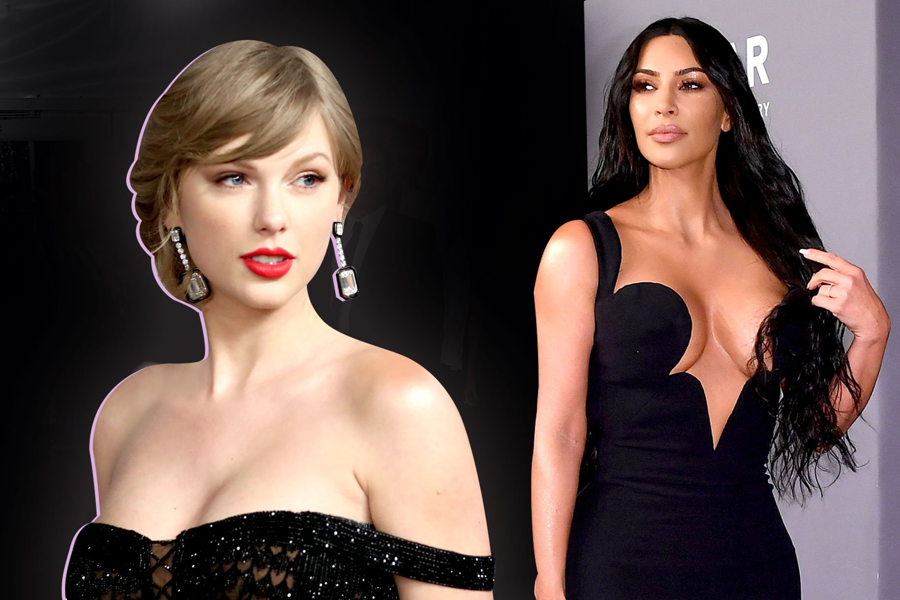 Kim Kardashian West, Taylor Swift