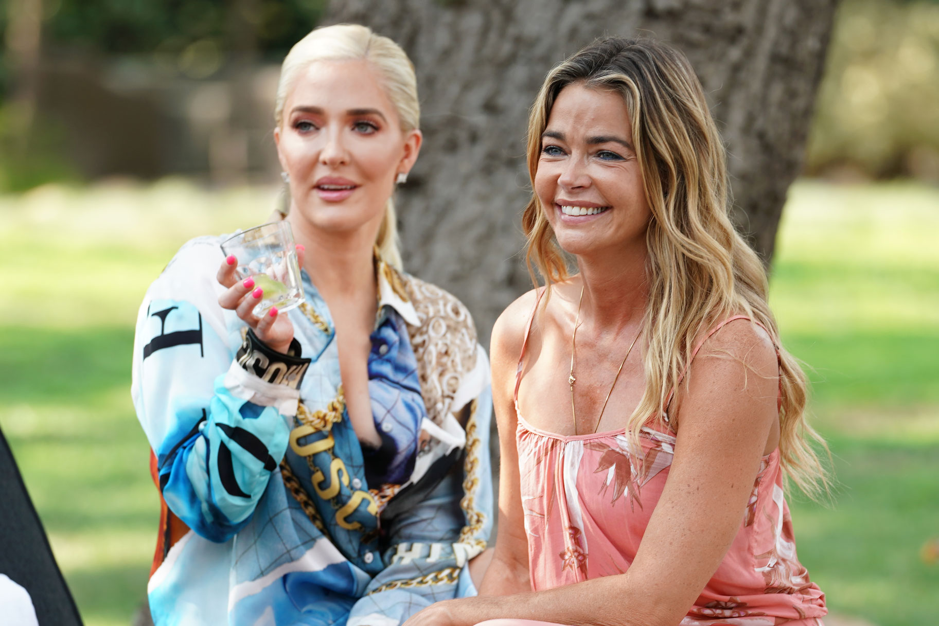 Erika Girardi and Denise Richards on The Real Housewives of Beverly Hills Season 9
