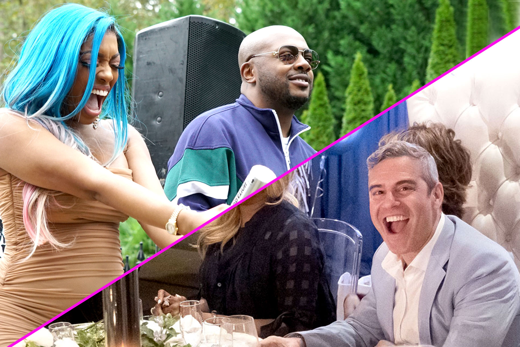 Porsha Williams' gender reveal party; Andy Cohen's baby shower