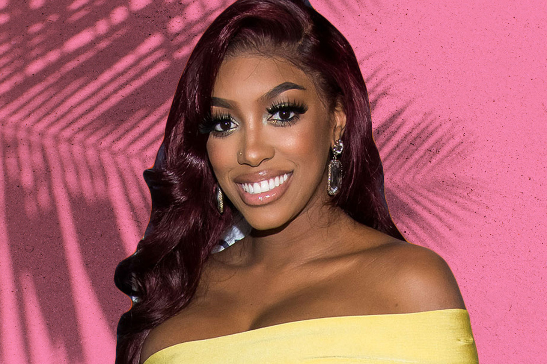 Porsha Williams Pregnant Bikini Belly