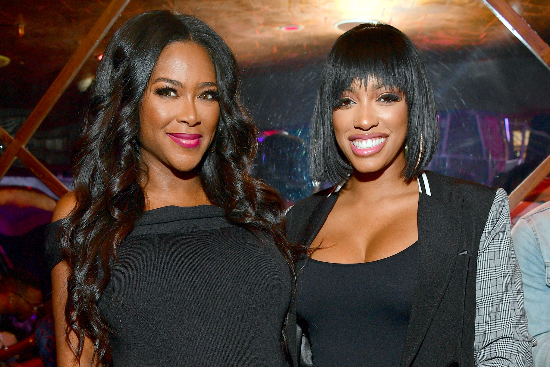 Kenya Moore and Porsha Williams together