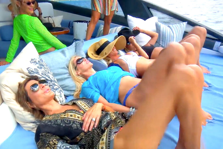 The Real Housewives of Beverly Hills Season 9 Bahamas Trip