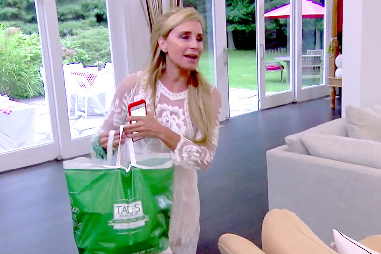 Real Housewives Ramona Singer Lobster Takeout from Barbara Kavovit Clambake