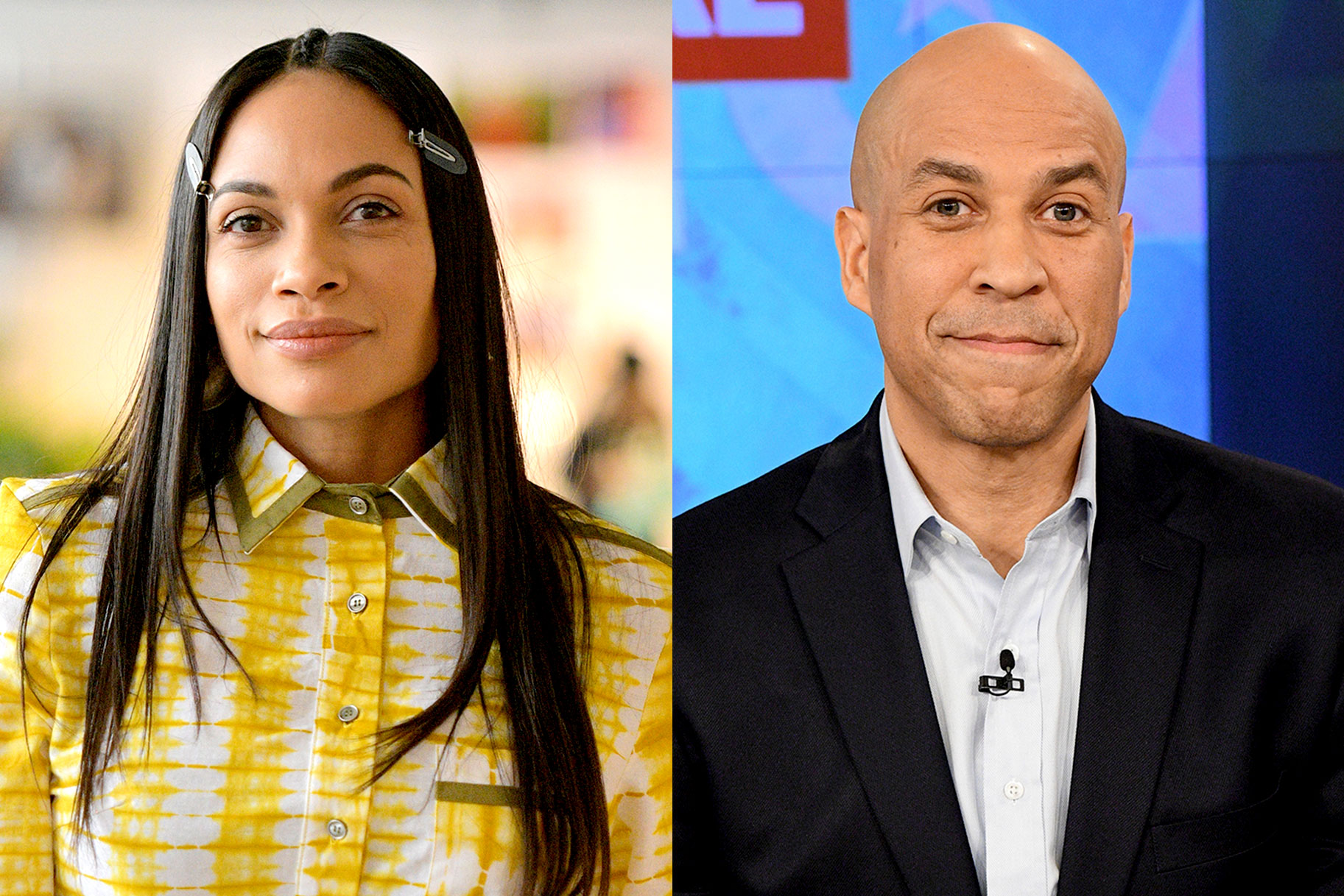 Rosario Dawson dating Cory Booker