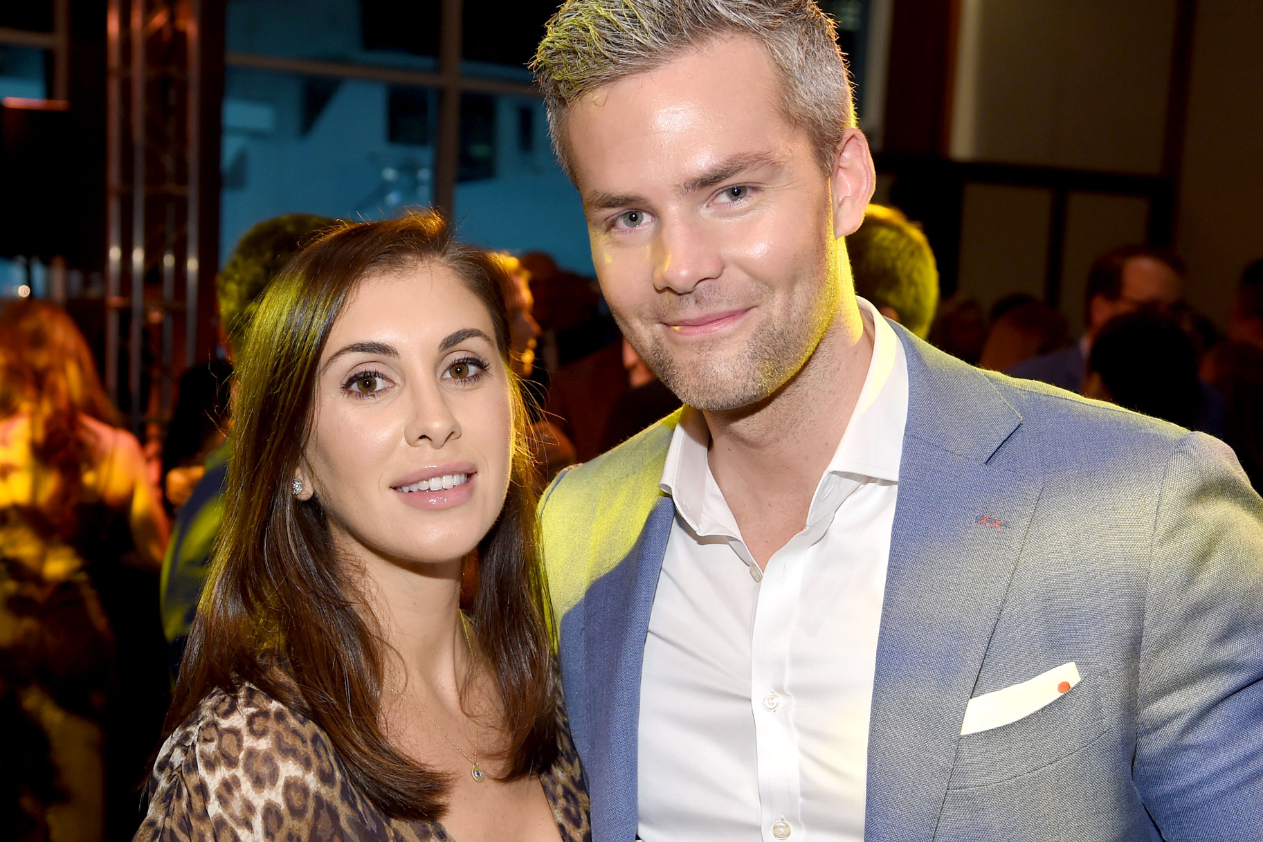 Ryan Serhant and Emilia Bechrakis