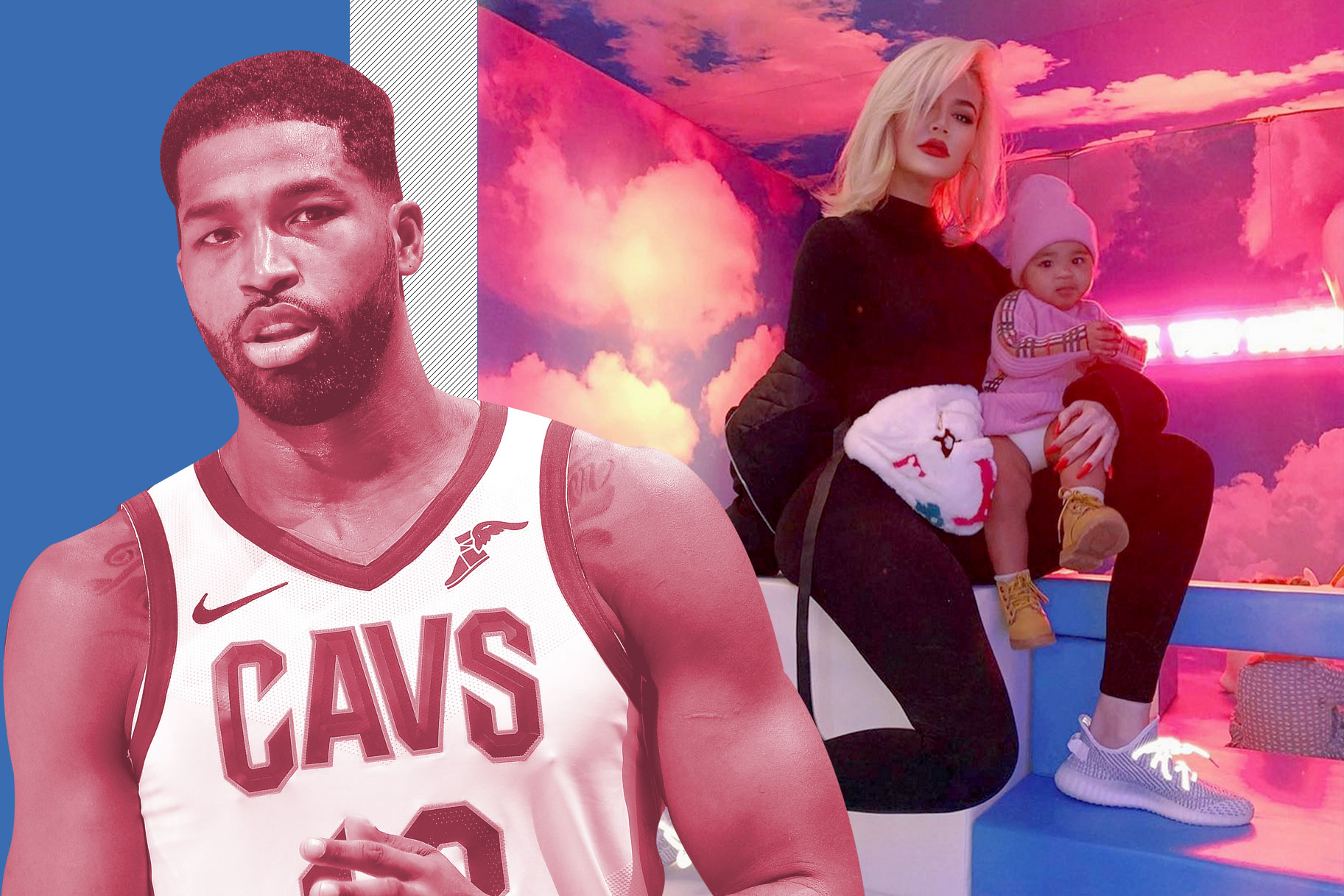Tristan Thompson, True Thompson, Khloe Kardashian