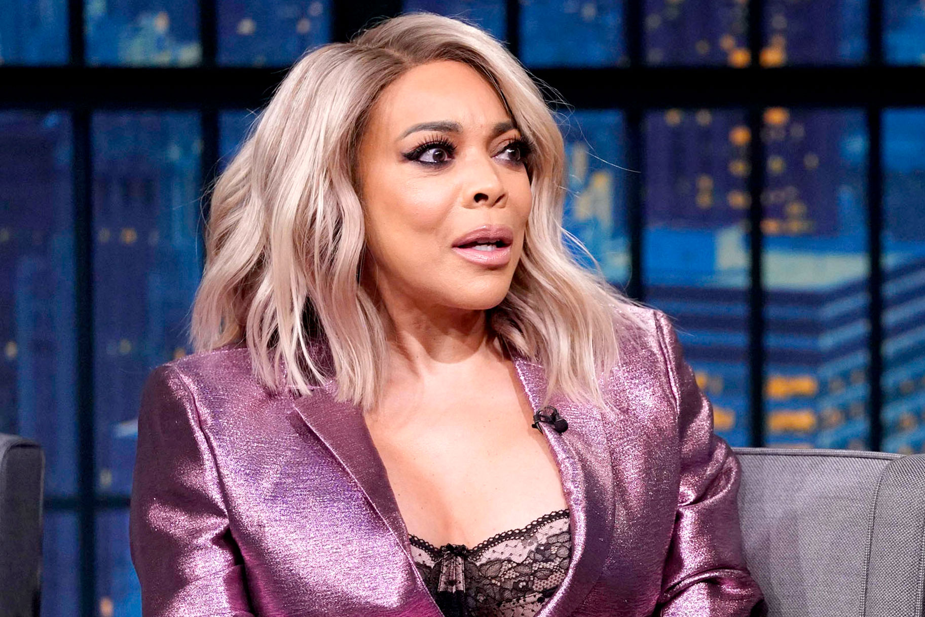 wendy williams living in sober house talks cocaine