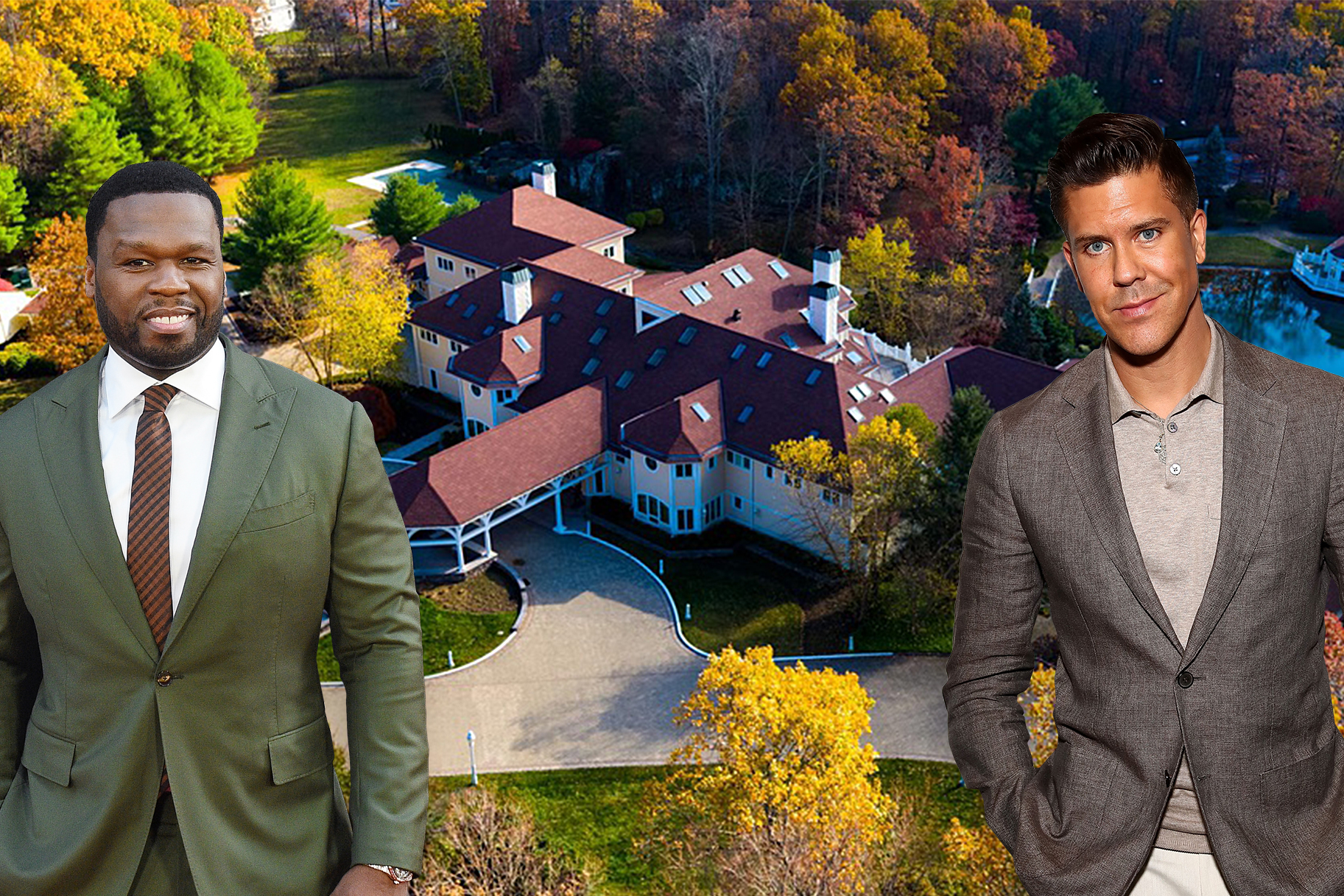 50 Cent and Fredrik Eklund