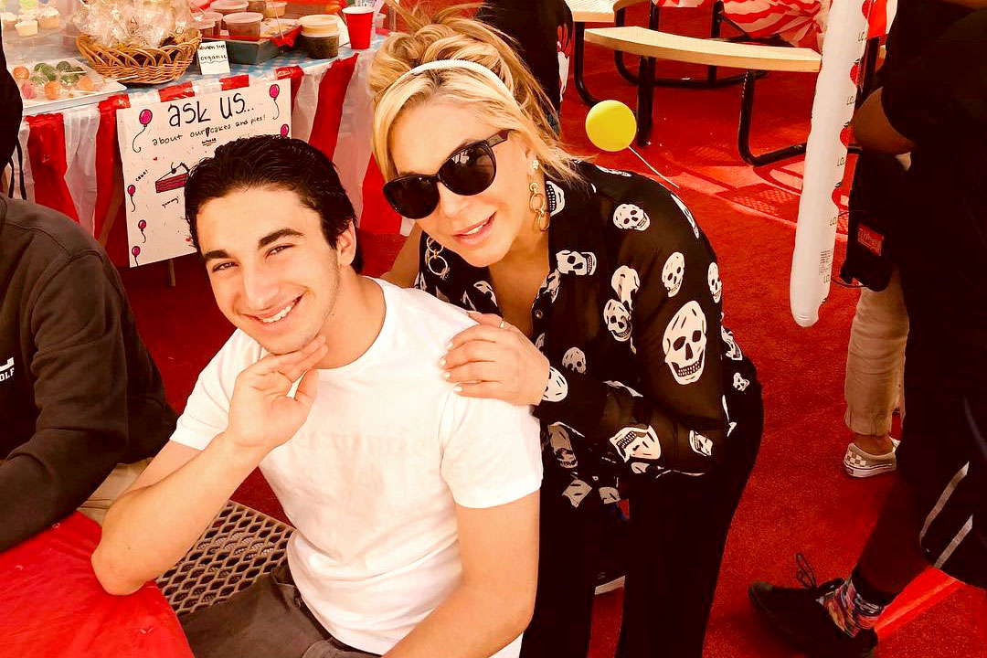 Adrienne Maloof and Son Gavin Nassif