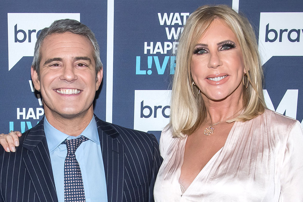 Andy Cohen Reacts Vicki Gunvalson Engaged