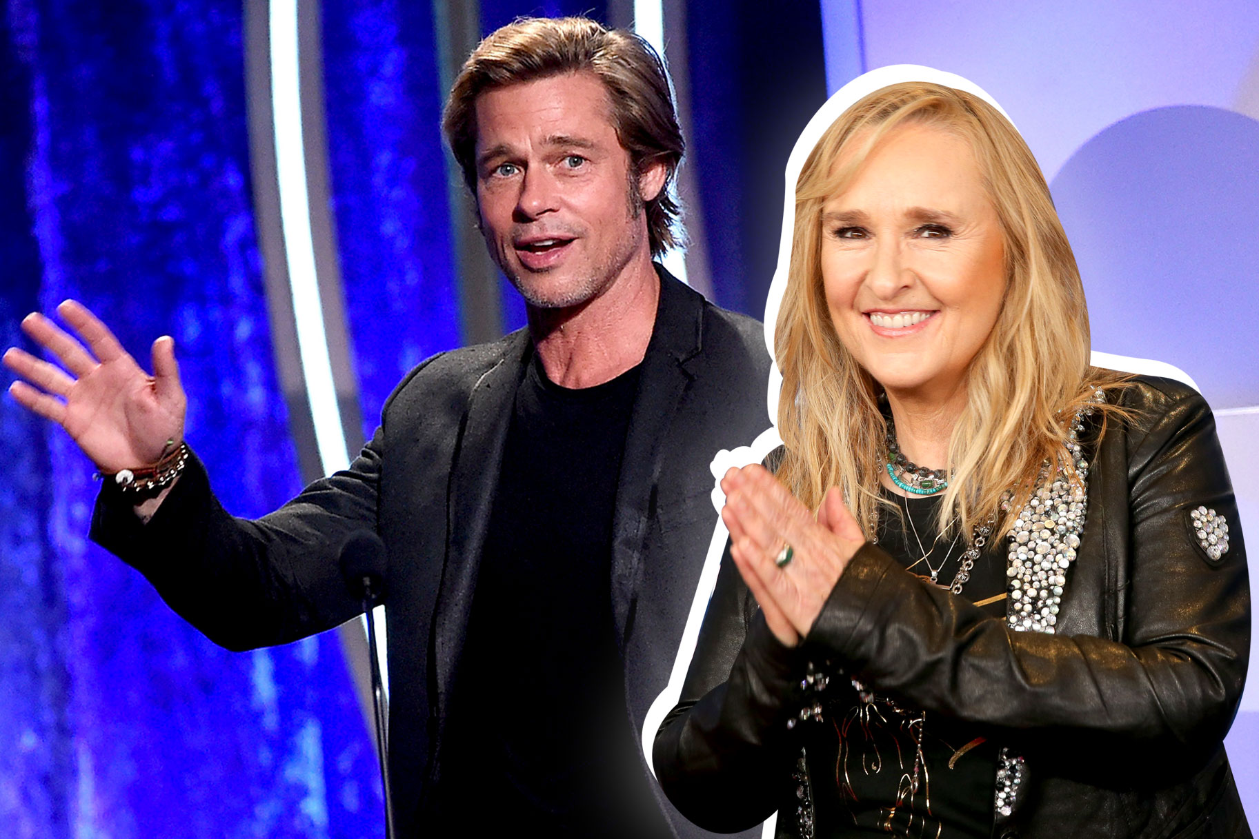 Brad Pitt, Melissa Etheridge