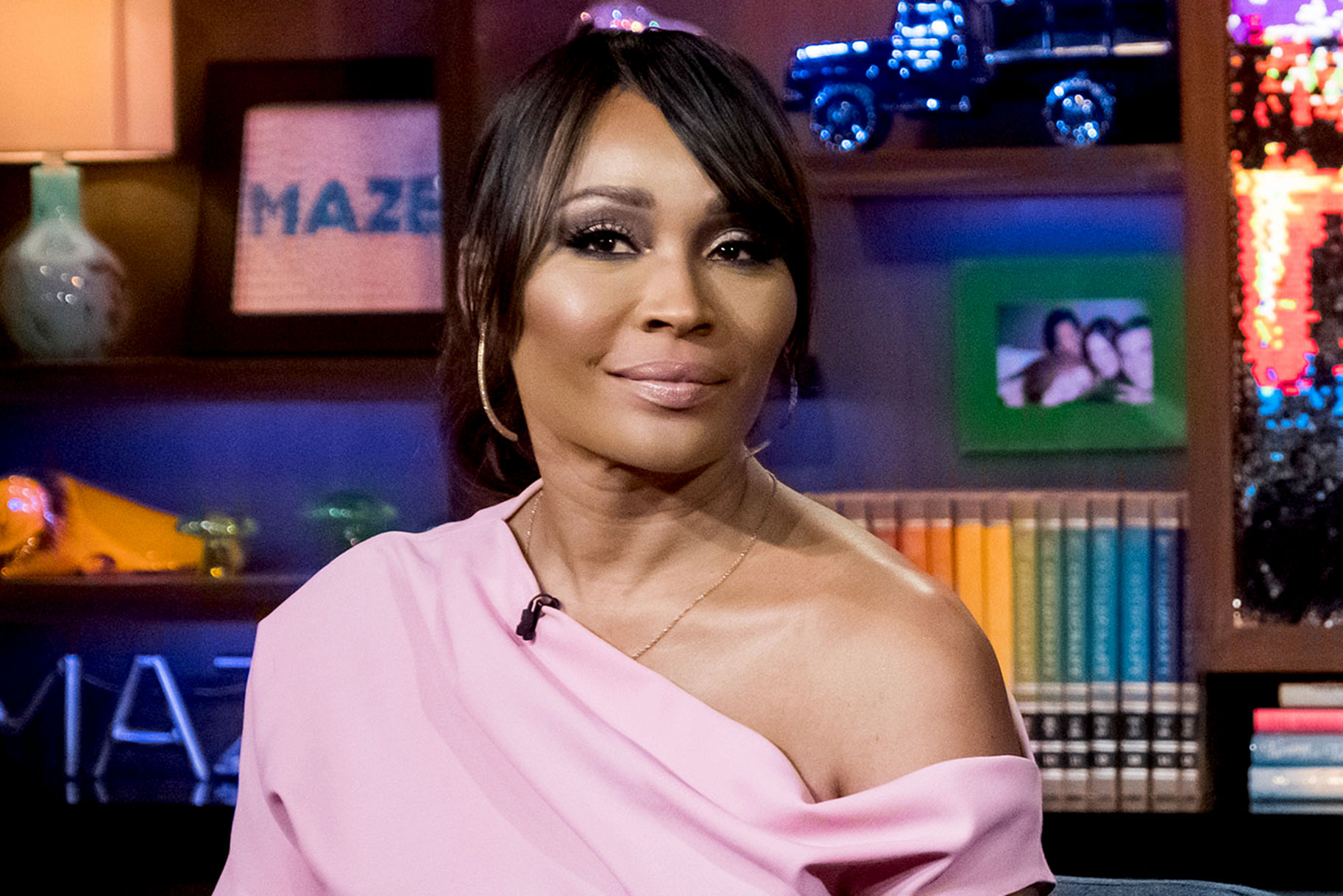 cynthia bailey on WWHL 4/21/19
