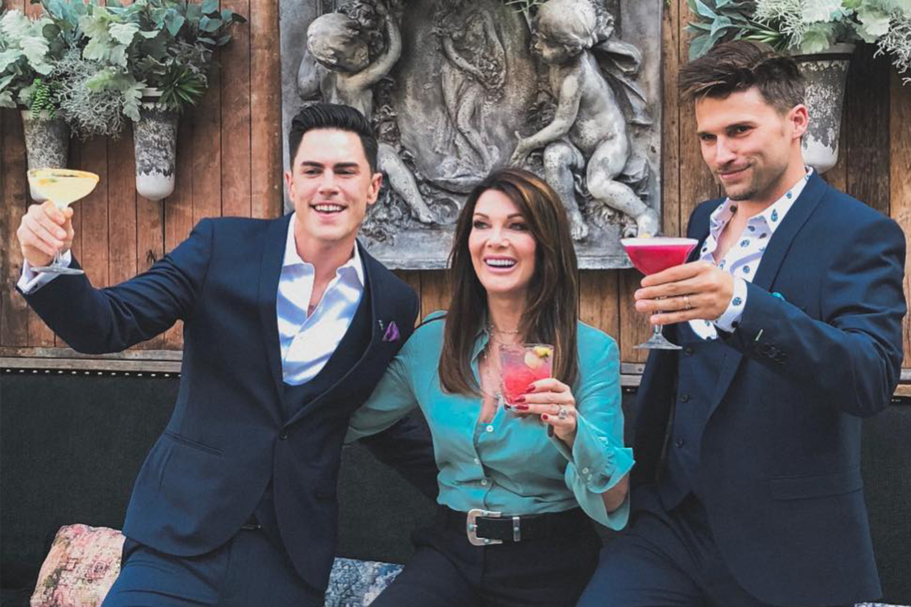 Lisa Vanderpump, Tom Schwartz, Tom Sandoval: Tom Tom