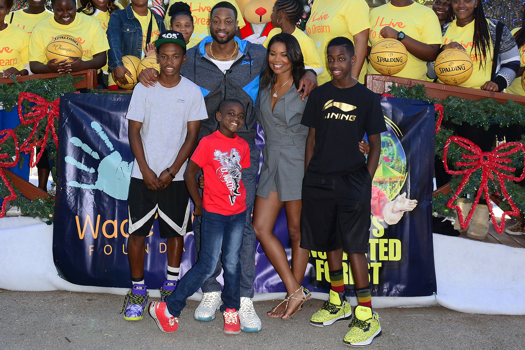 Dwyane Wade, Gabrielle Union Show Pride Support for Zion Wade