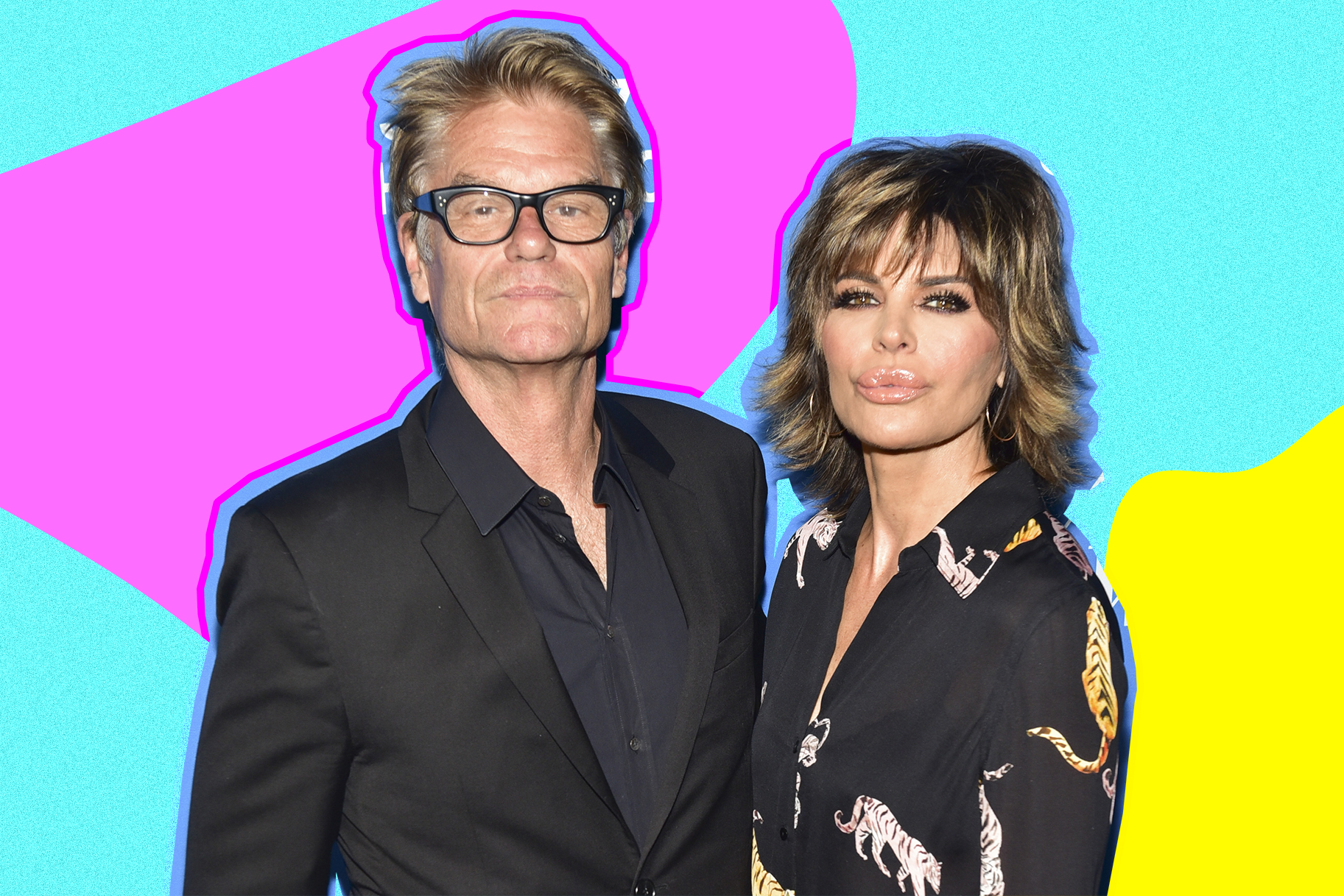 Harry Hamlin and Lisa Rinna