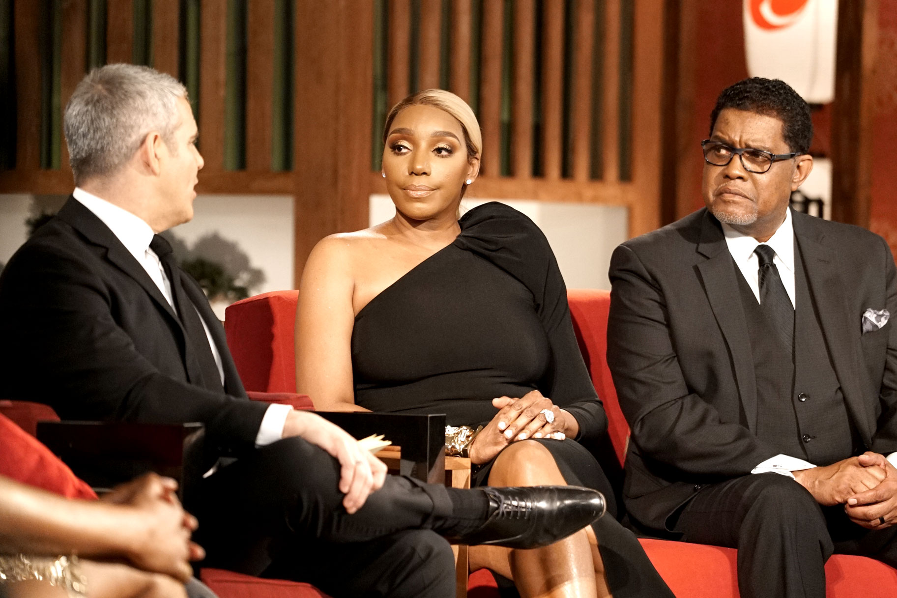 Nene Leakes, Gregg Leakes at RHOA Season 11 Reunion