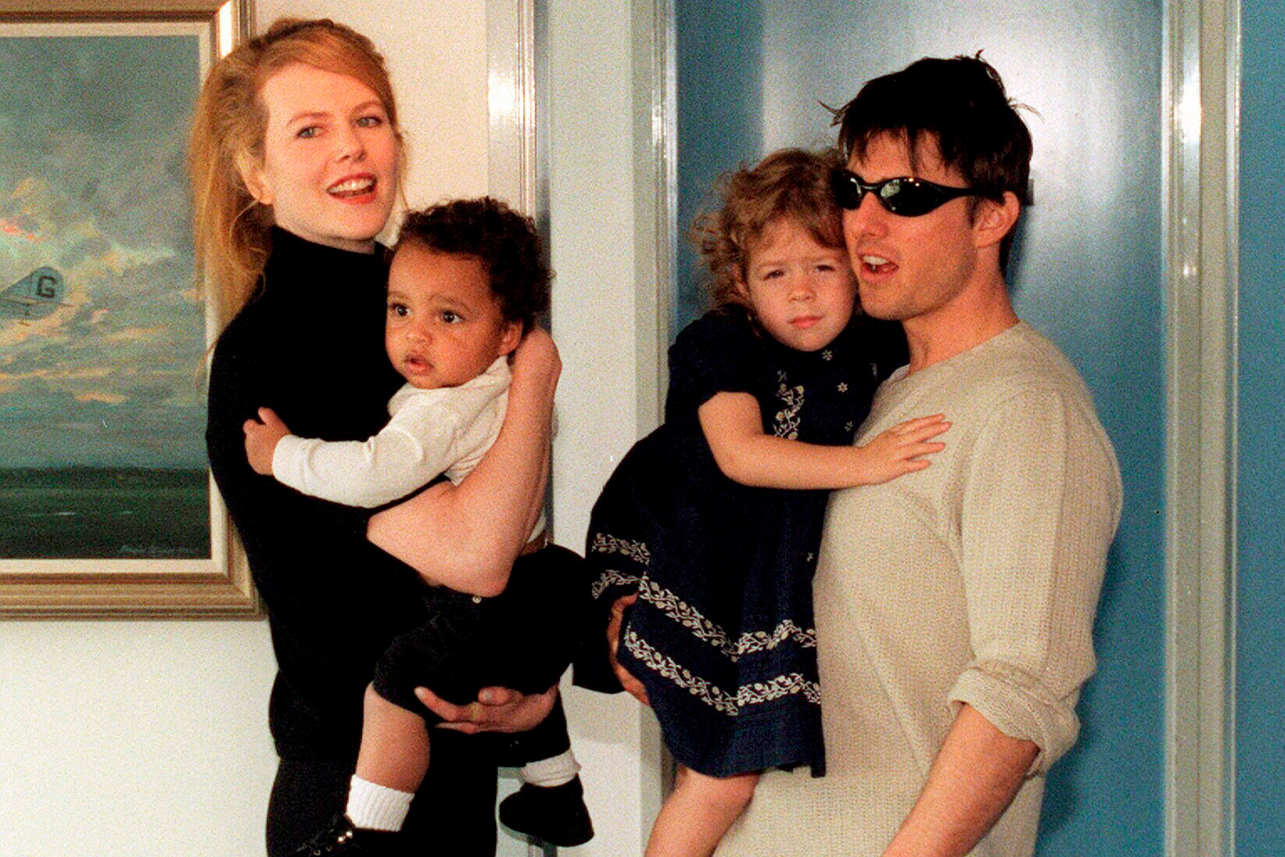 Where are Nicole Kidman's kids with Tom Cruise?