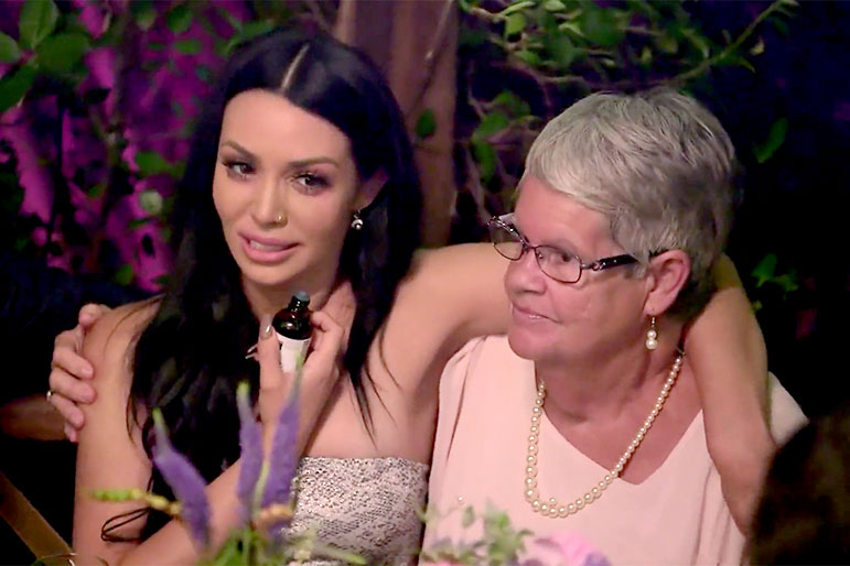 Scheana Shay with Brittany Cartwright's Mamaw