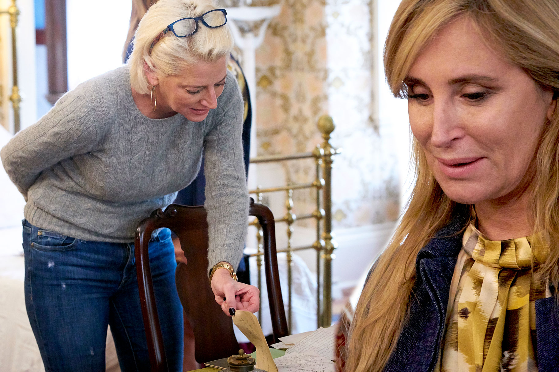 Sonja Morgan Berskhires Morgan Mansion Meltdown