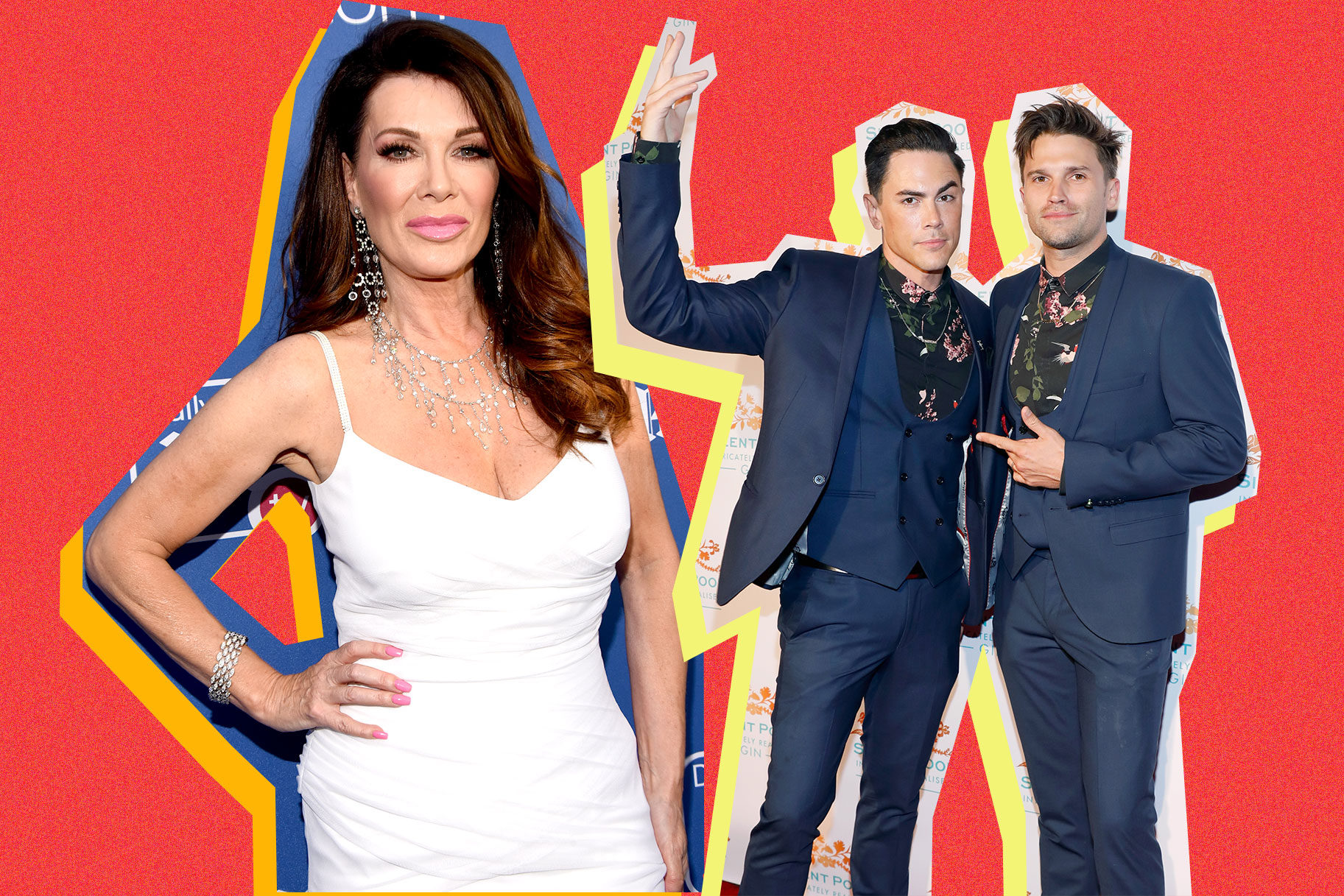 Lisa Vanderpump, Tom Schwartz, Tom Sandoval