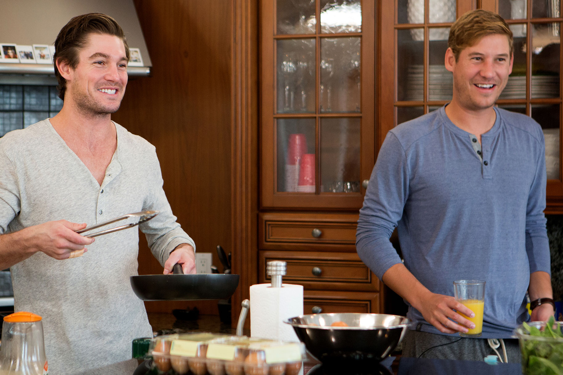 Craig Conover and Austen Kroll on Southern Charm