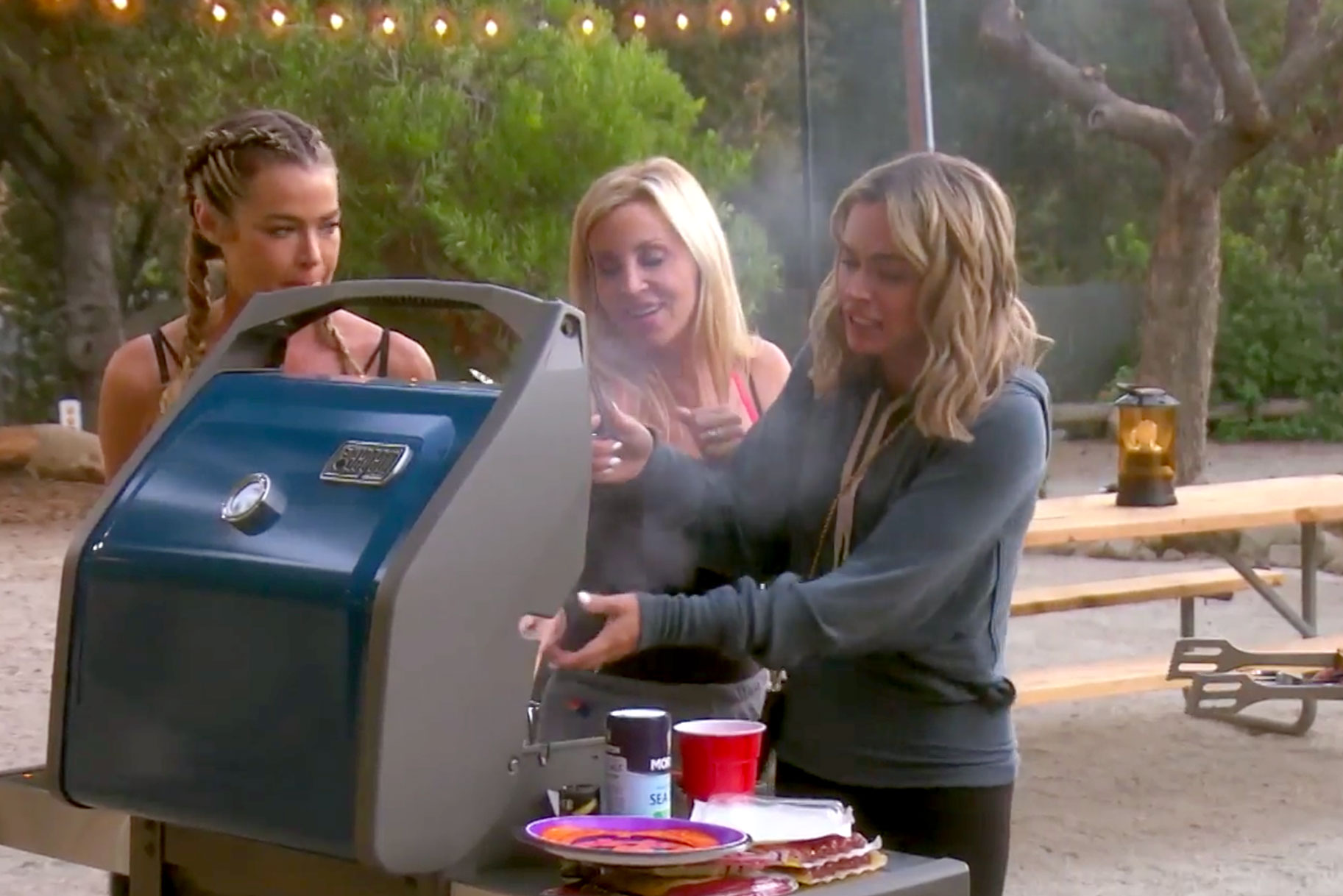 Real Housewives of Beverly Hills Camping Trip
