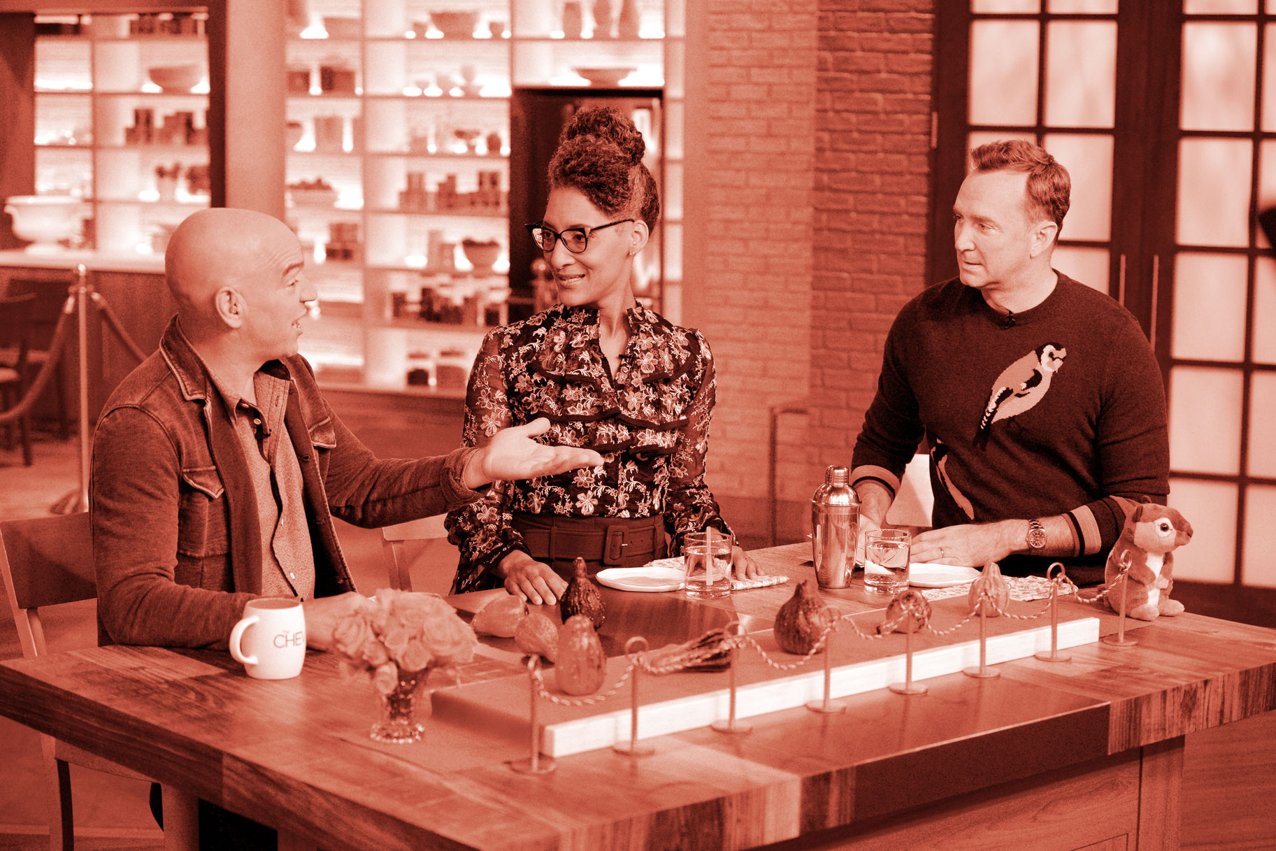 Carla Hall, Michael Symon, Clinton Kelly
