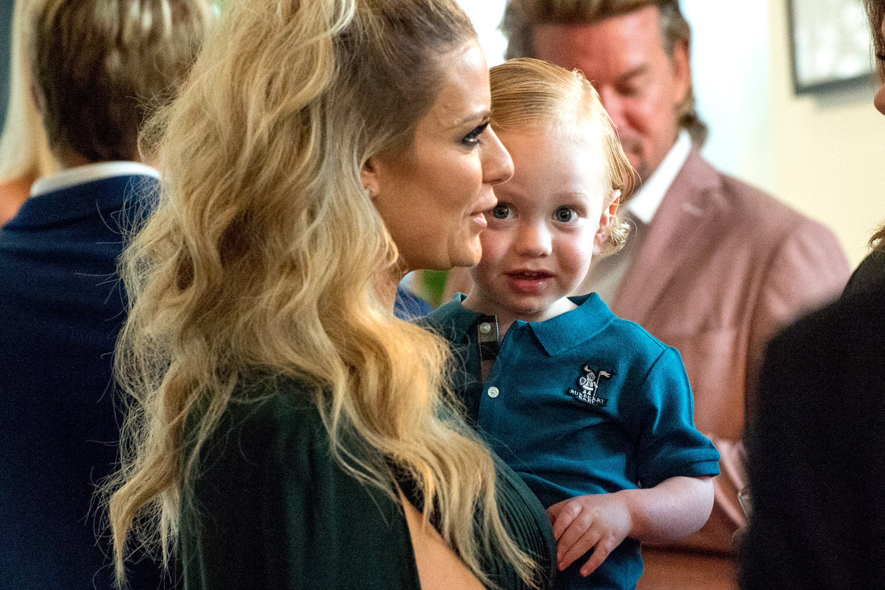 Dorit Kemsley with Son Jagger
