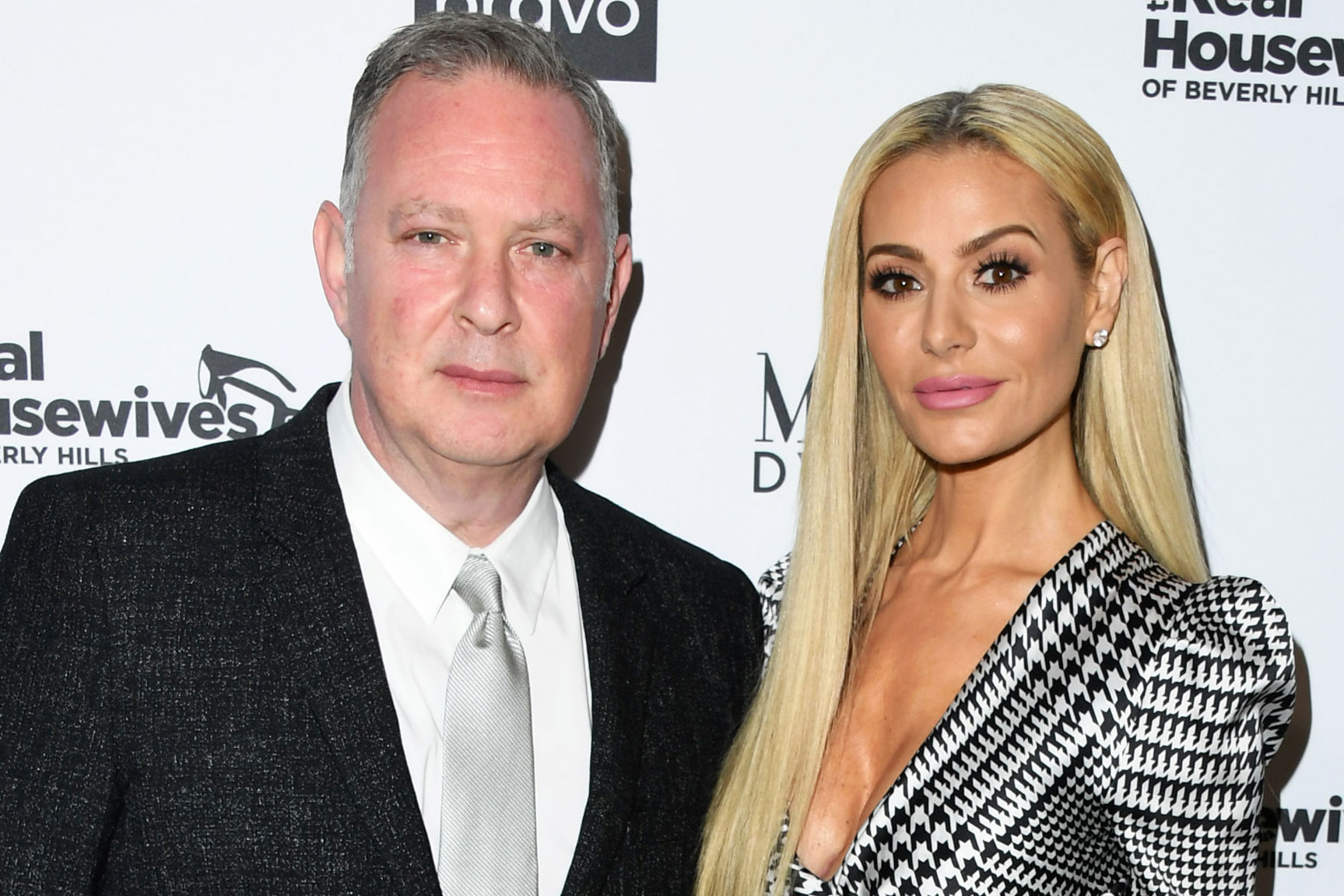 "Dorit Kemsley with Husband Paul ""PK"" Kemsley"