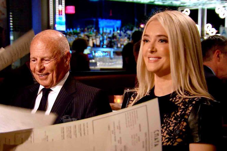 Erika Girardi with Husband Tom Girardi on The Real Housewives of Beverly Hills