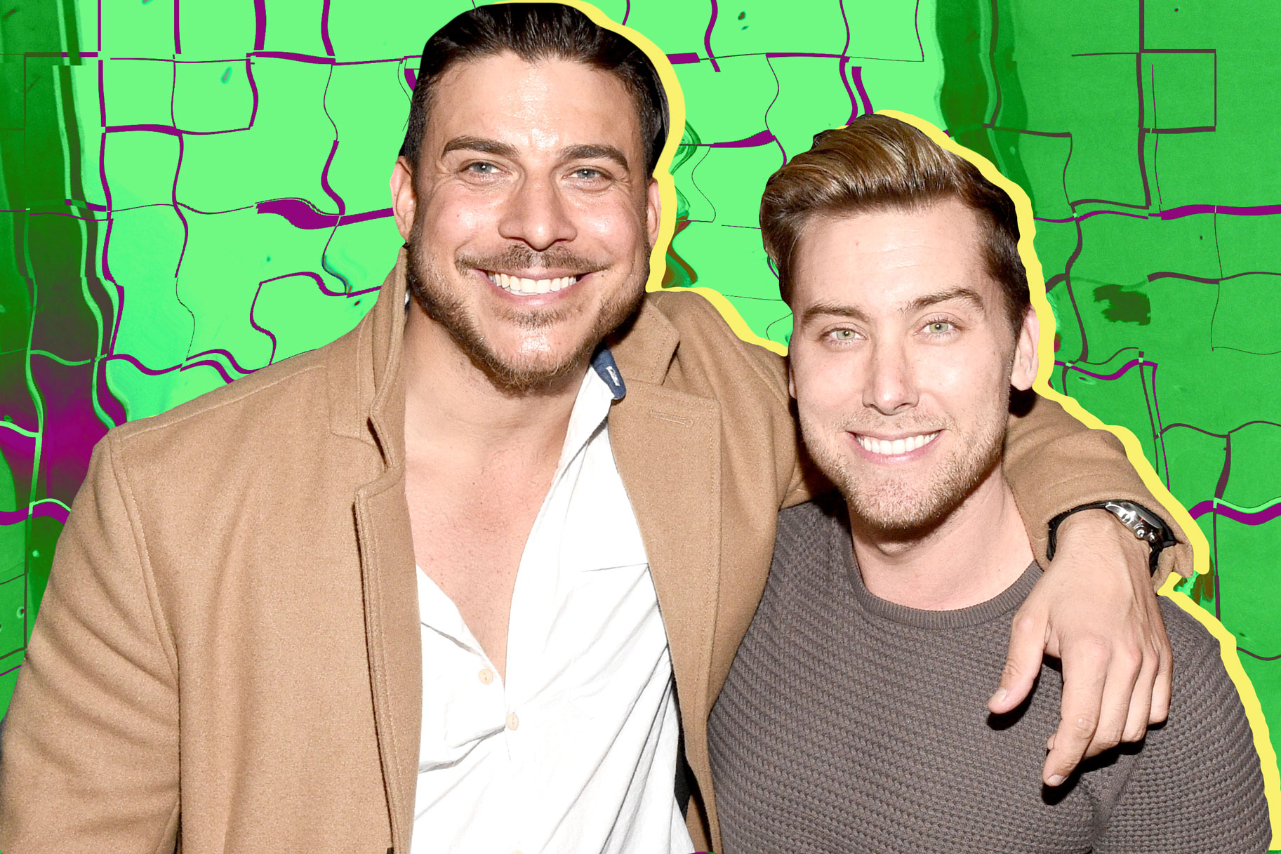 jax taylor bachelor party lance bass