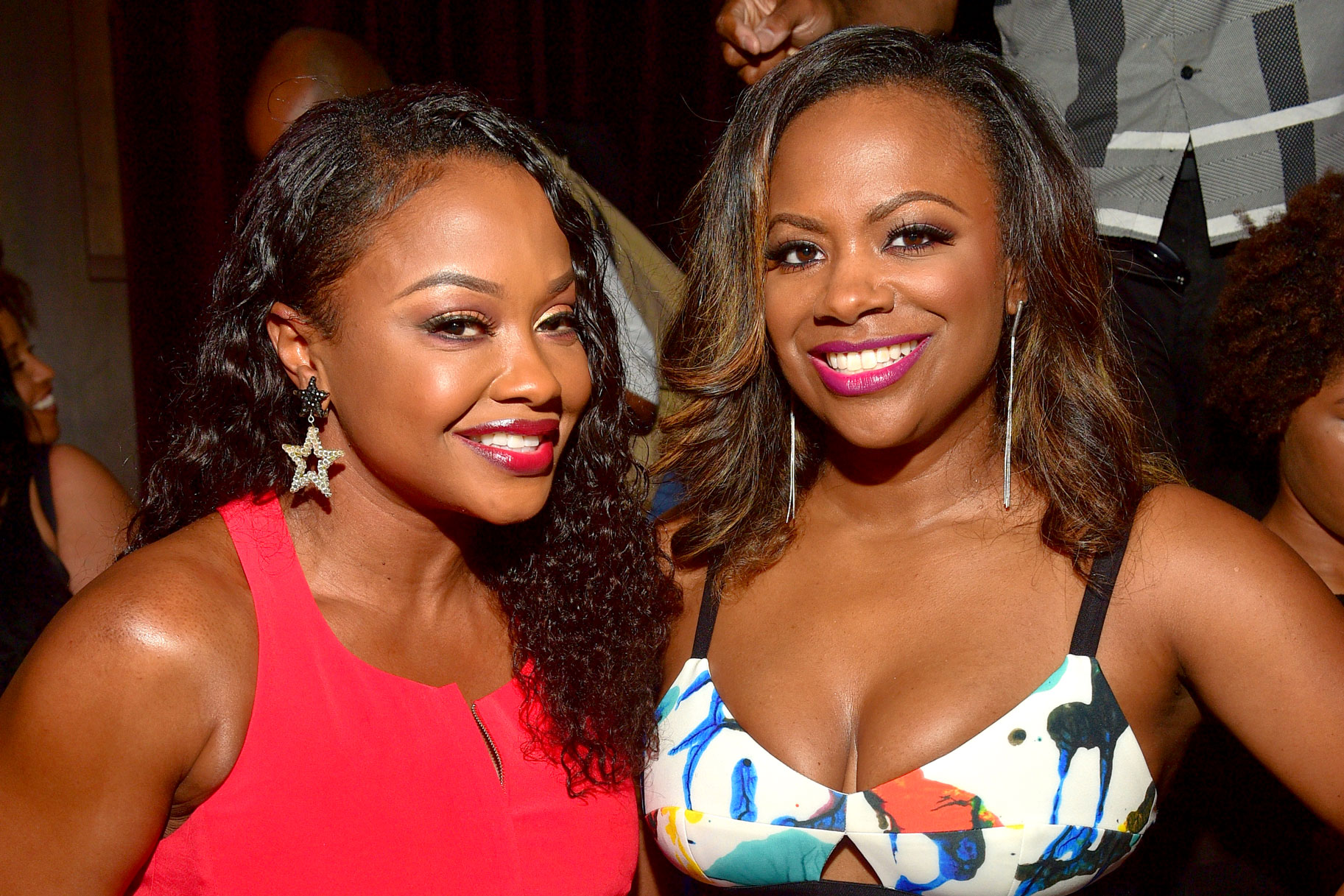 Kandi Burruss and Phaedra Parks