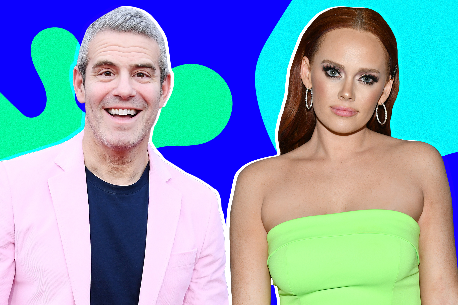 Andy Cohen and Kathryn Dennis