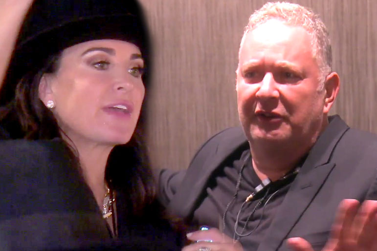 "Kyle Richards and Paul ""PK"" Kemsley in The Real Housewives of Beverly Hills Season 9"