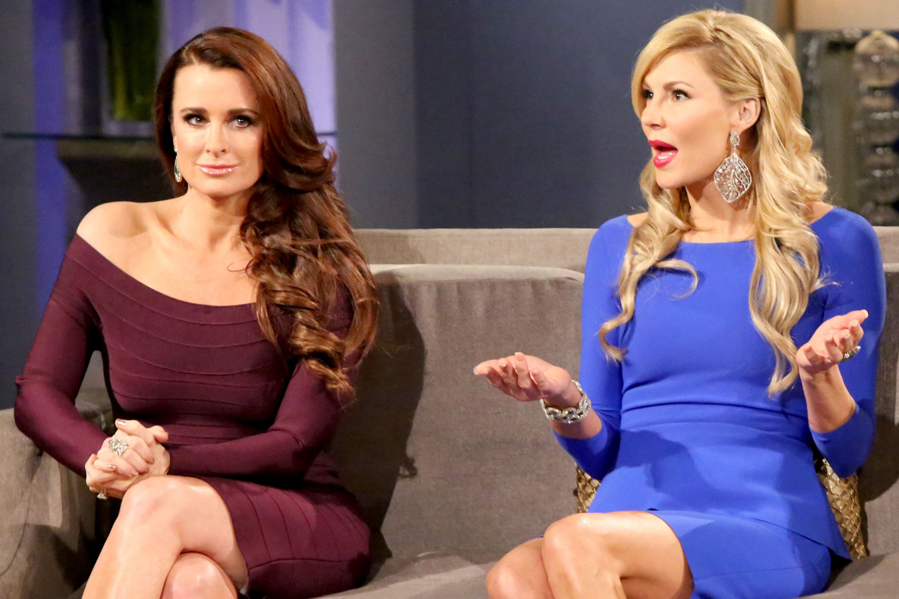 kyle richards brandi glanville feud