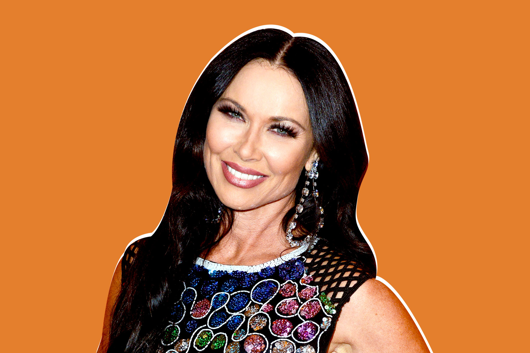 LeeAnne Locken Wears Wedding Pantsuit