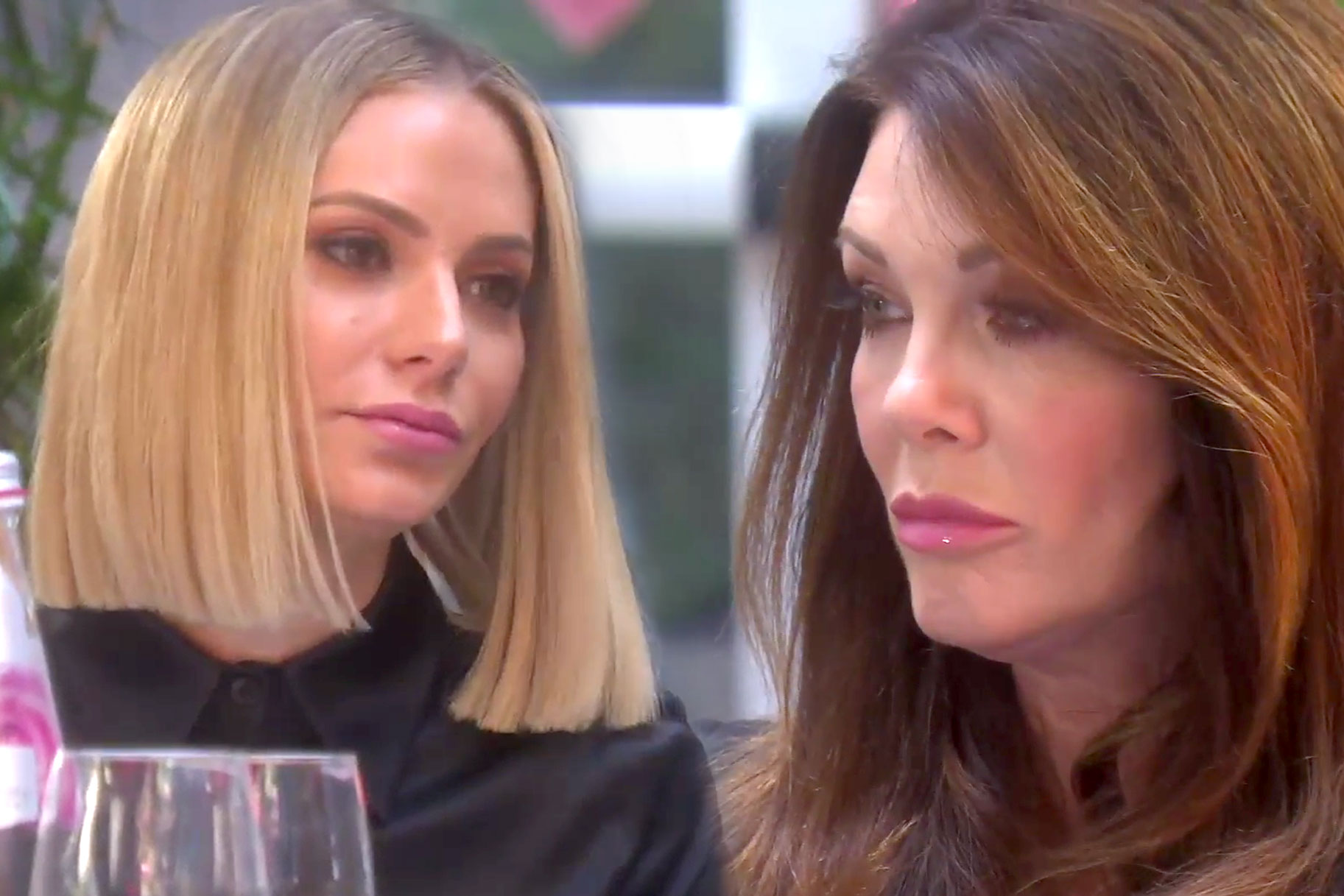 Lisa Vanderpump and Dorit Kemsley in The Real Housewives of Beverly Hills Season 9