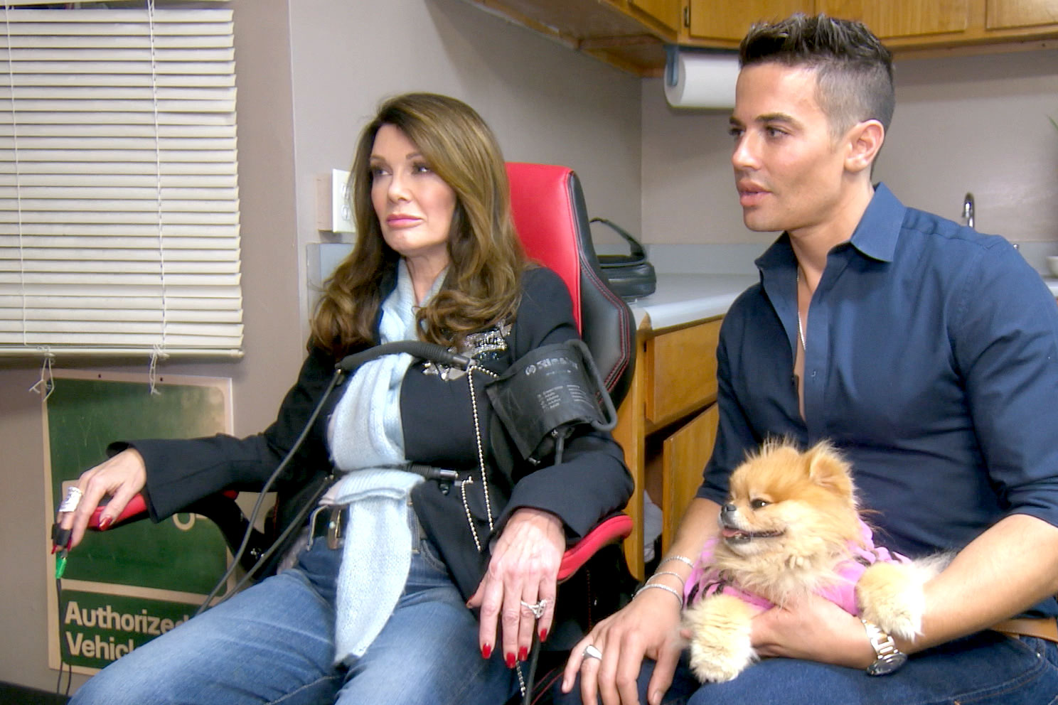 Lisa Vanderpump Takes a Lie Detector Test on The Real Housewives of Beverly Hills