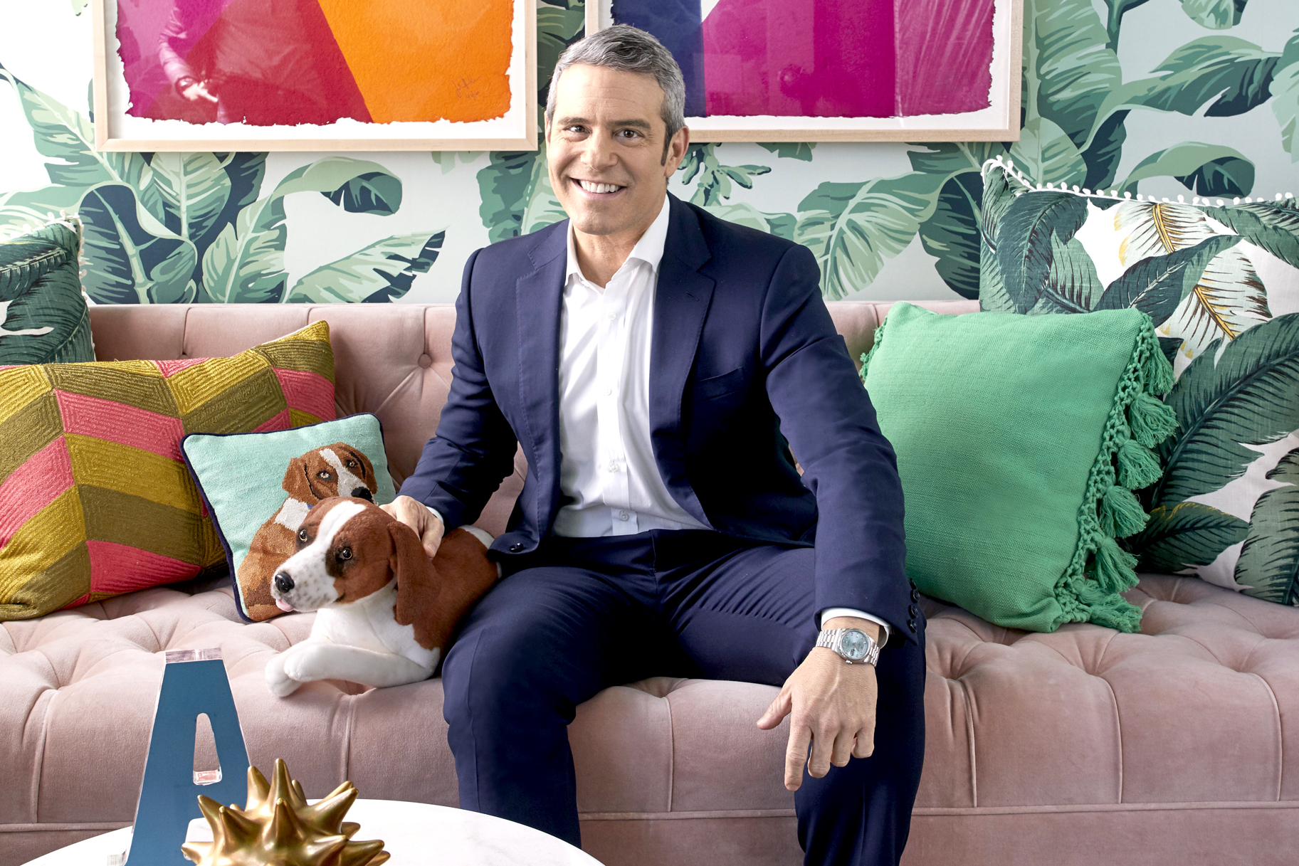 Andy Cohen WWHL Greenroom