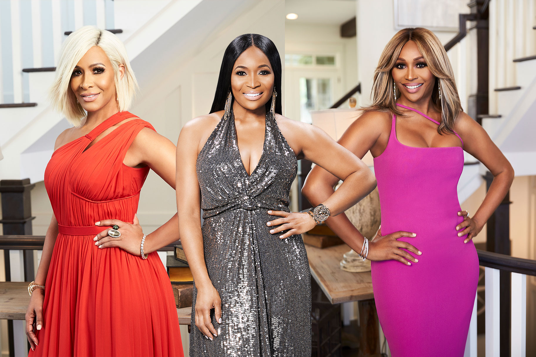 Sheree Whitfield, Marlo Hampton, Cynthia Bailey