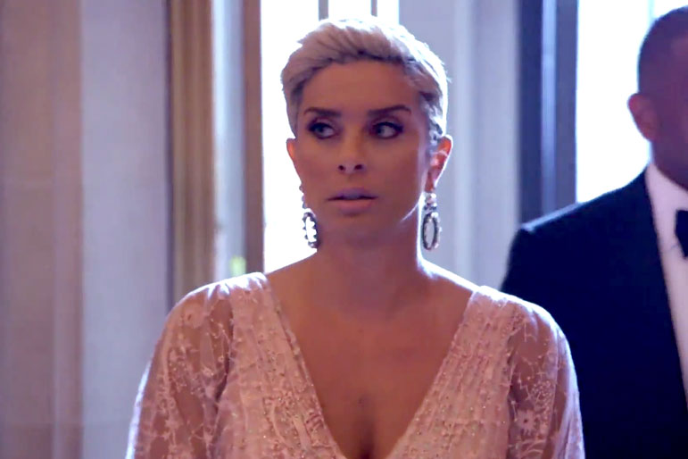 robyn dixon  attending a wedding together as a couple was a big deal