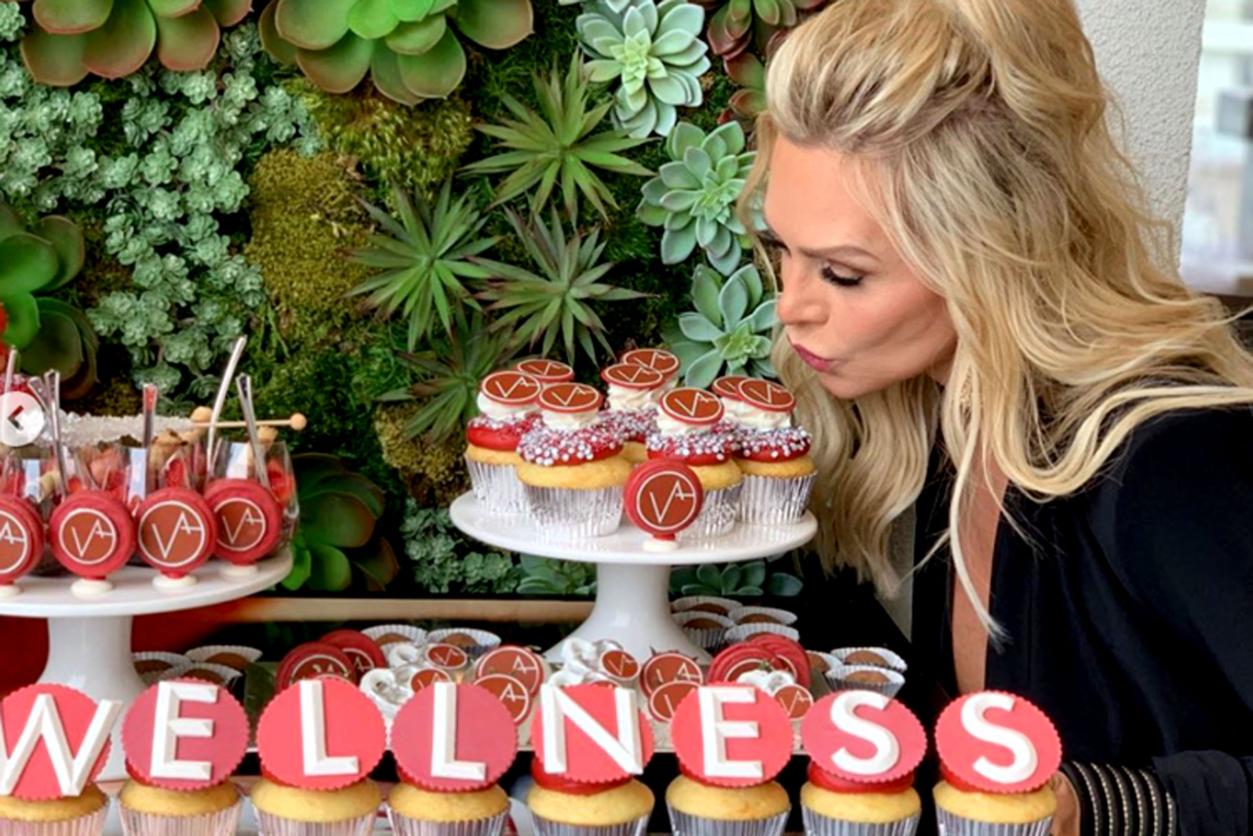 Tamra Judge VENA Wellness CBD Oil Launch Party Pictures