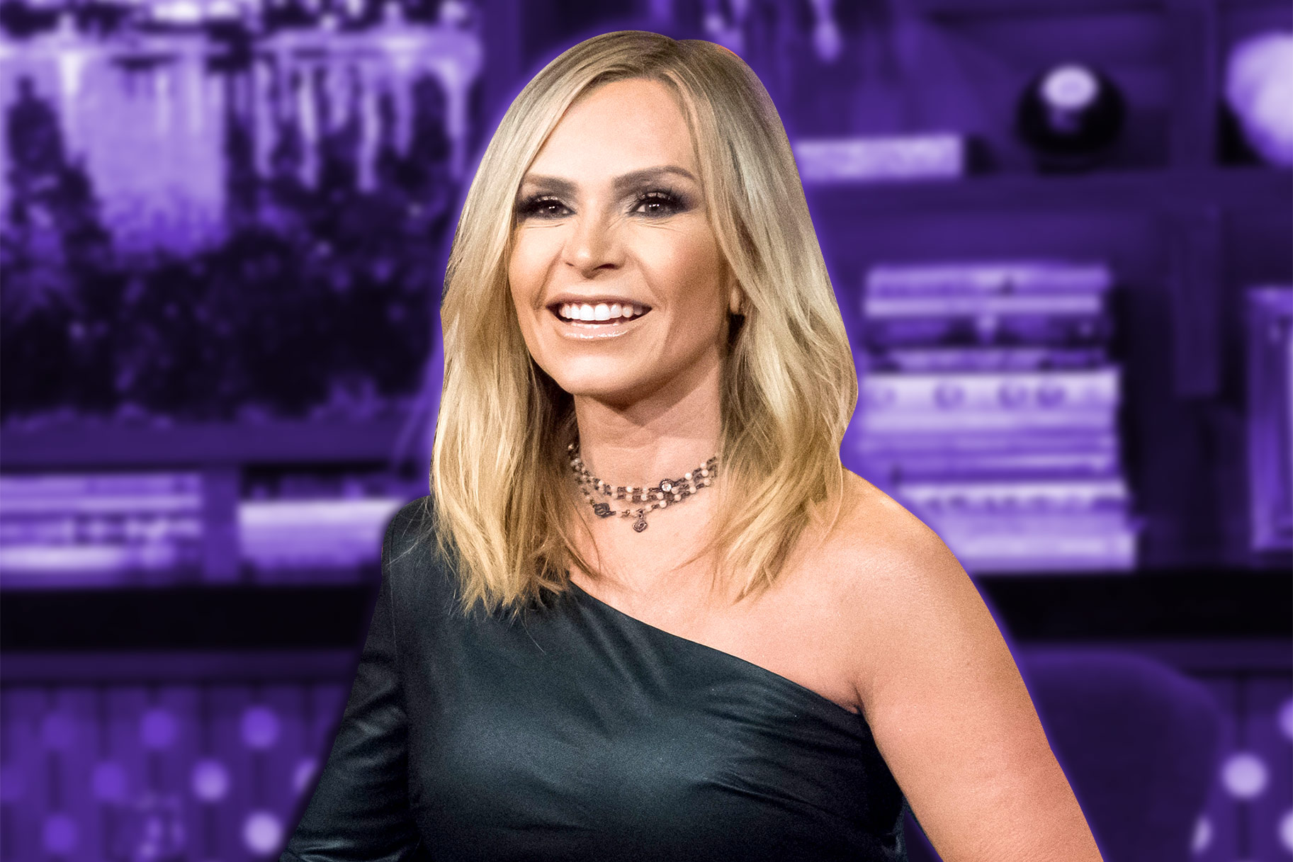 Tamra Judge Shares Beaded Hair Throwback
